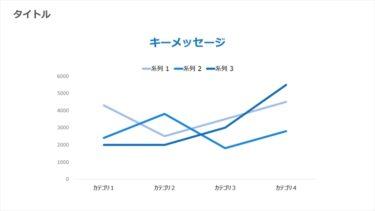 折れ線グラフ / 00120