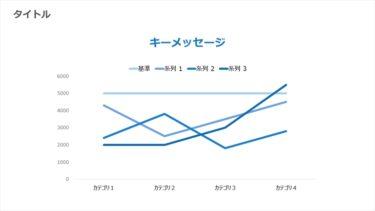 折れ線グラフ / 00130